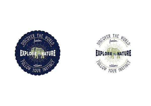 Explore the Nature Logo