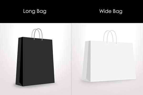 Paper / Shopping bag Mockup