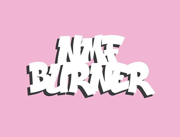 NMF Burner - Free Classic Graffiti Font